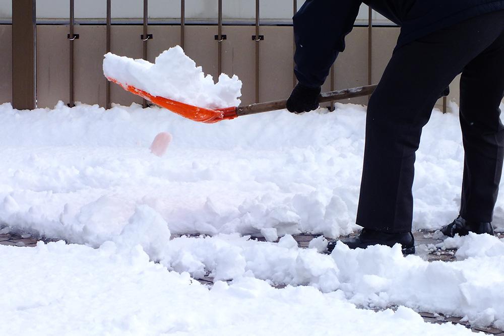 積雪時の対策