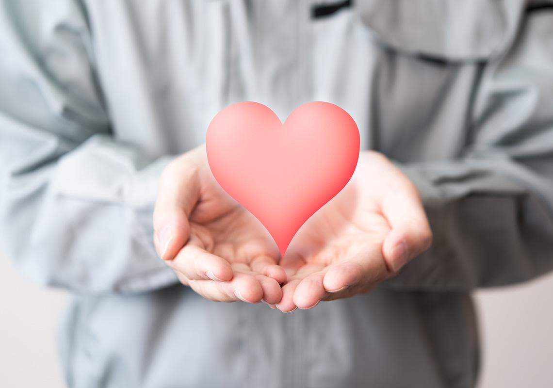 心のこもった思いやりのある接遇の提供