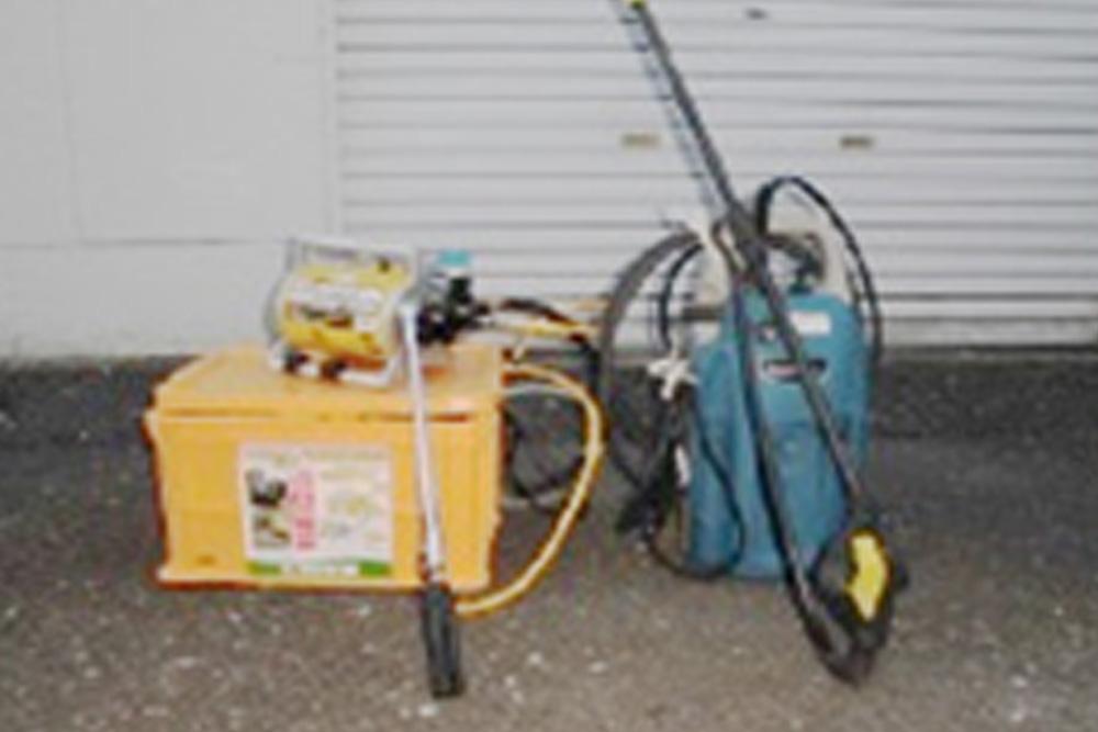 高所薬剤噴霧器・高圧洗浄機
